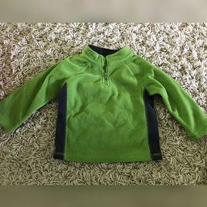 18M Green Fleece Jacket
